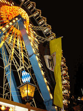 Big wheel at the Munich beer festival